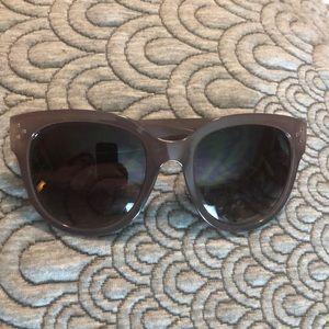 ANN TAYLOR LOFT SunGlasses 😎 Taupe/Brown $56 NEW